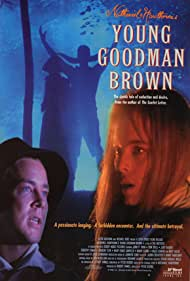 Melinda Clarke and Tom Shell in Young Goodman Brown (1993)