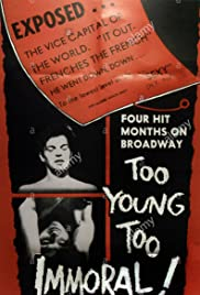 Too Young, Too Immoral Poster