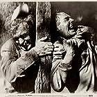 Randolph Scott and Forrest Tucker in The Nevadan (1950)