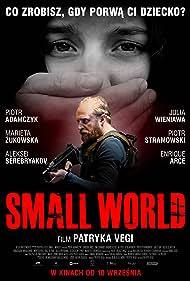 Piotr Adamczyk and Julia Wieniawa-Narkiewicz in Small World (2021)