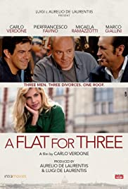 A Flat for Three Poster