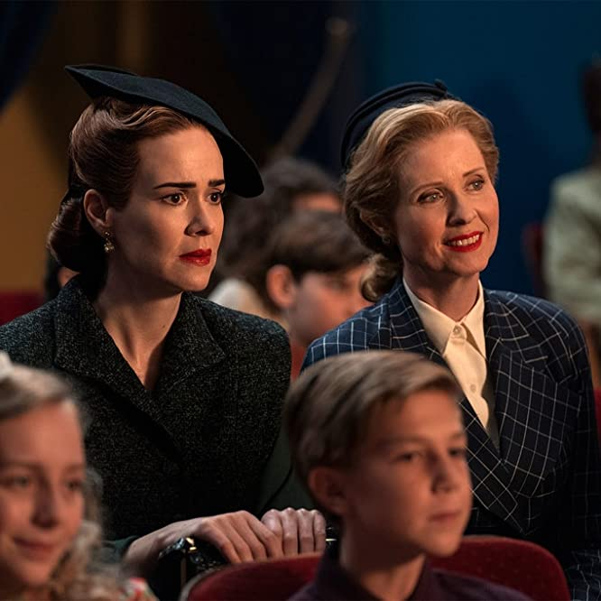 Sarah Paulson, Cynthia Nixon, and Kiersten Kay in Ratched (2020)