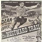 Roscoe Ates, Eddie Dean, and Phyllis Planchard in The Westward Trail (1948)