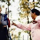 Chow Yun-Fat and Gaowa Siqin in Yi ma de hou xian dai sheng huo (2006)