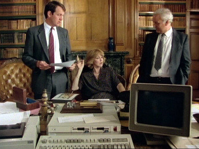 Patricia Hodge, John Thaw, and Kevin Whately in Mystery! (1980)