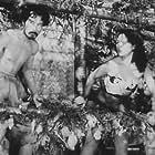 Akemi Negishi and Tadashi Suganuma in Anatahan (1953)