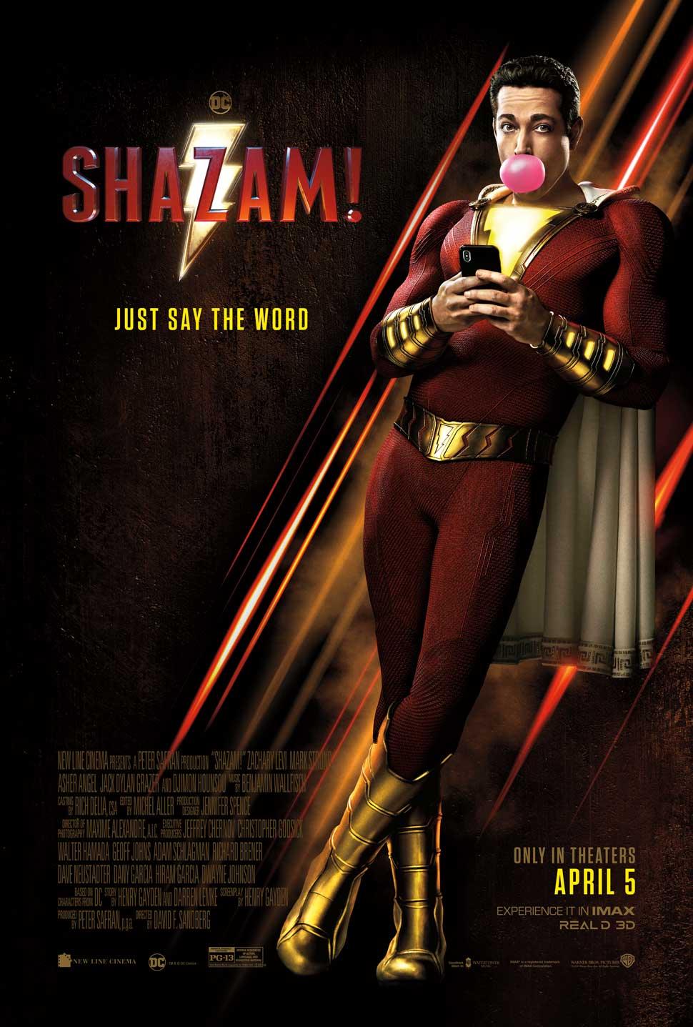 Shazam! Cover