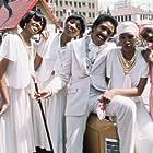 Richard Pryor, Anita Pointer, Bonnie Pointer, June Pointer, and Ruth Pointer in Car Wash (1976)