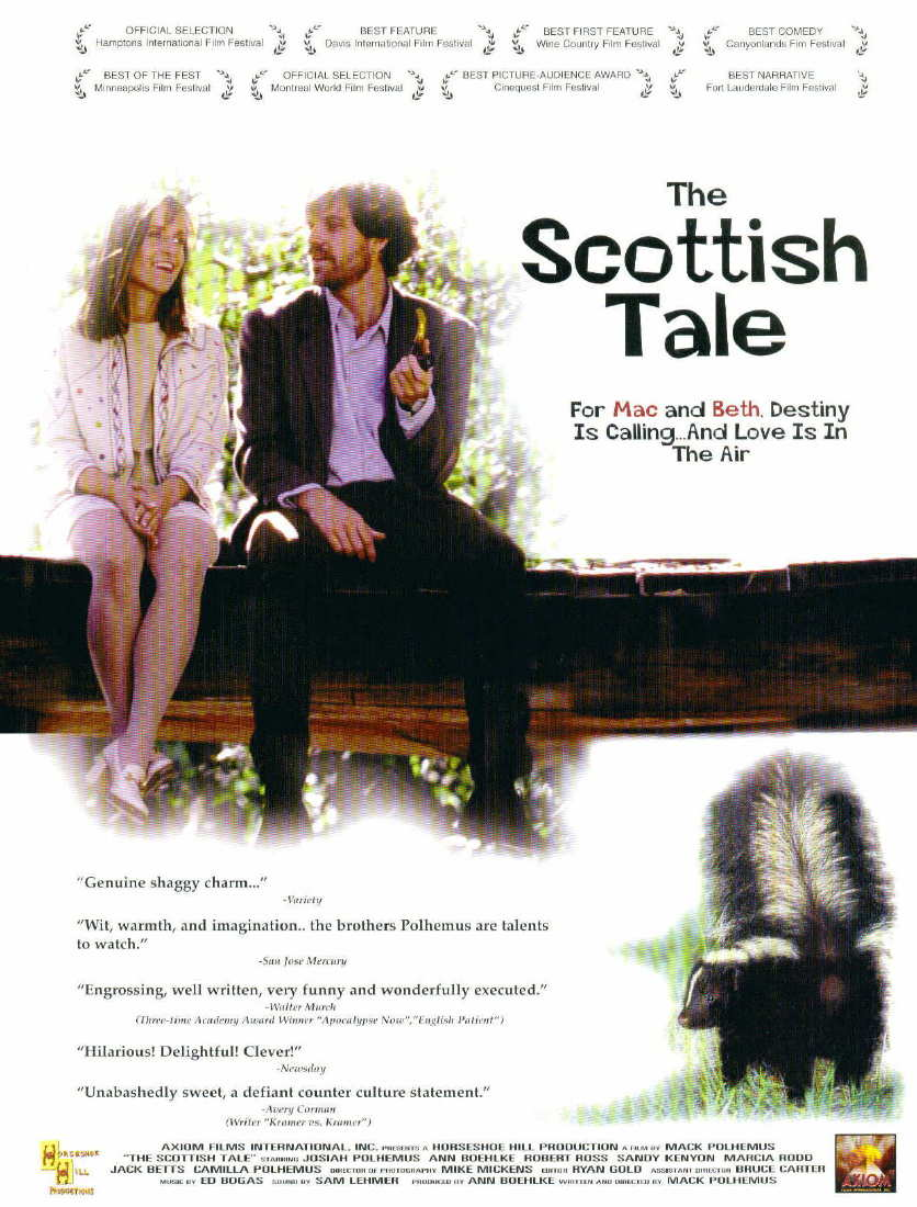 Ann Boehlke and Josiah Polhemus in The Scottish Tale (1998)