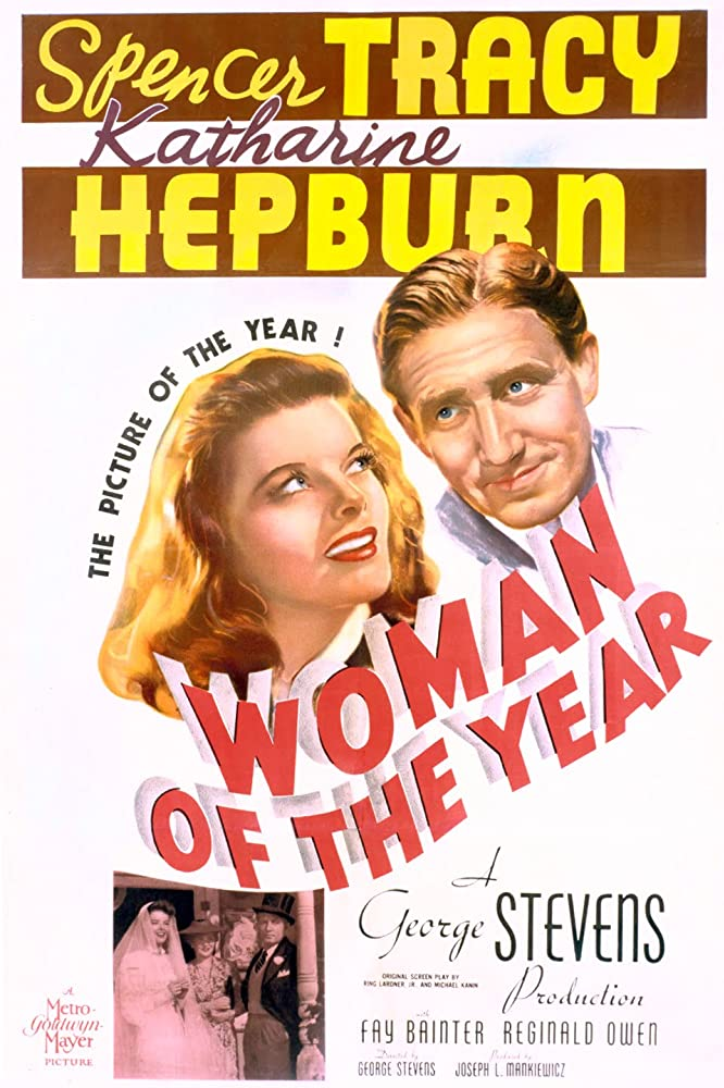 Katharine Hepburn and Spencer Tracy in Woman of the Year (1942)