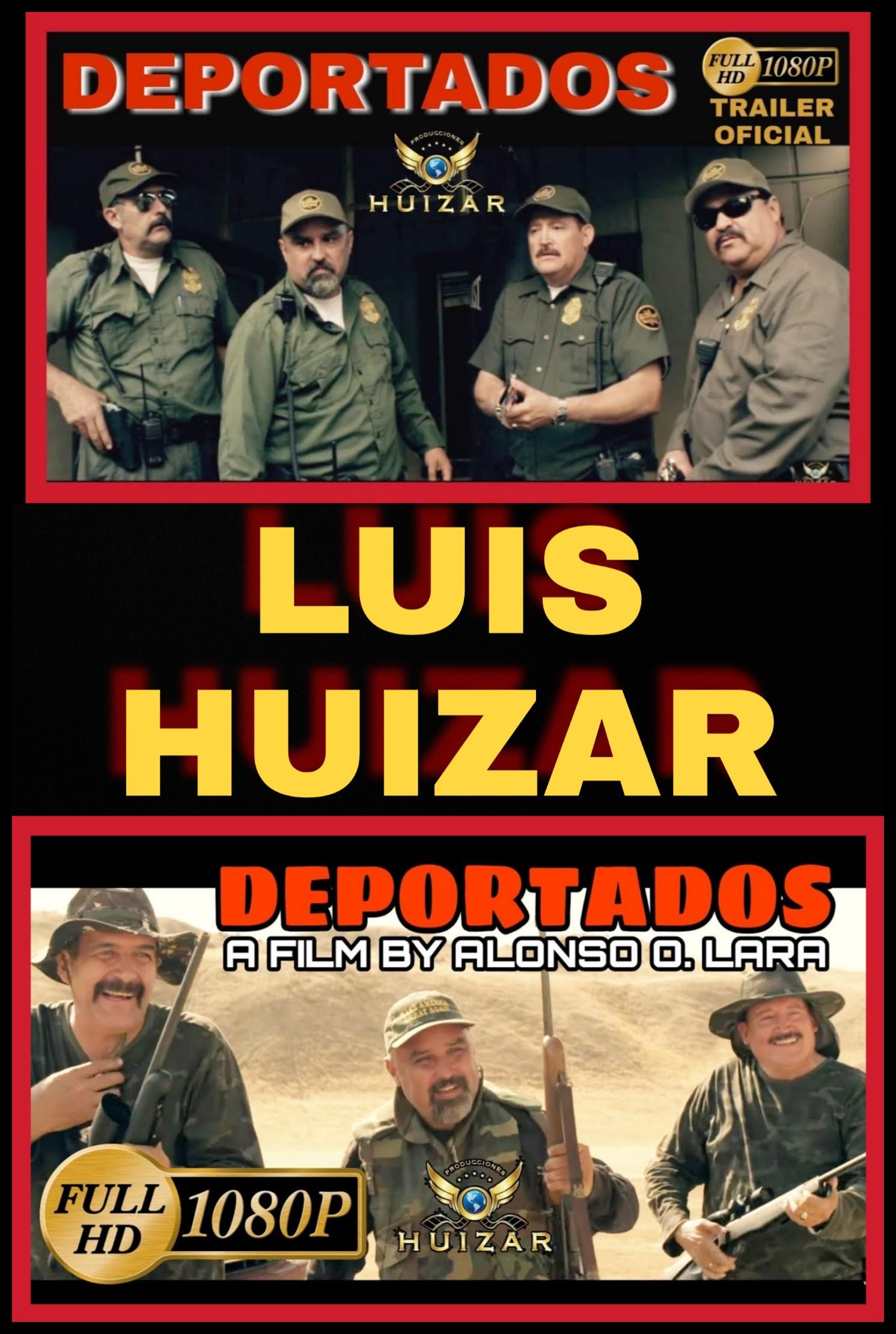 Luis Huizar, Vianey Huizar, Jesus Heredia, Jesus Esparza, Jose Ramirez Raya, Chitto Buenrostro, Maria Patino, and Coty Caballero in Deportados (2019)