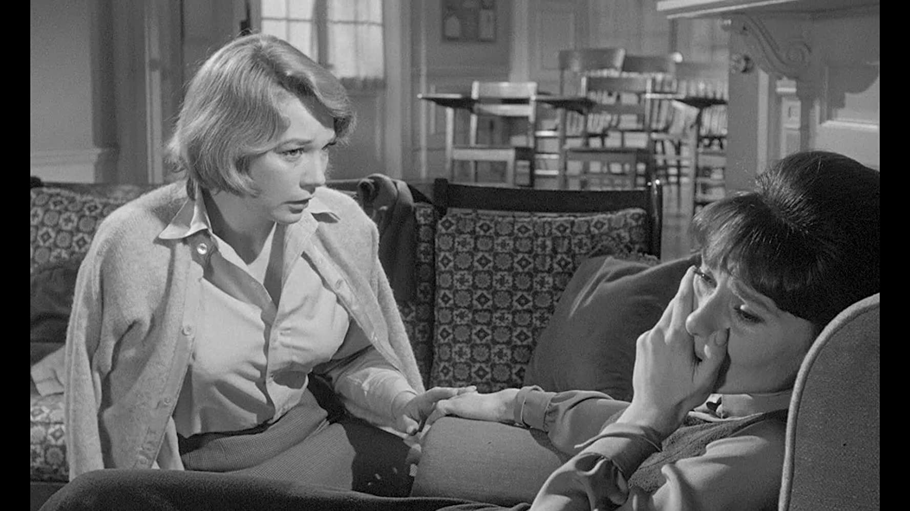 Audrey Hepburn and Shirley MacLaine in The Children's Hour (1961)