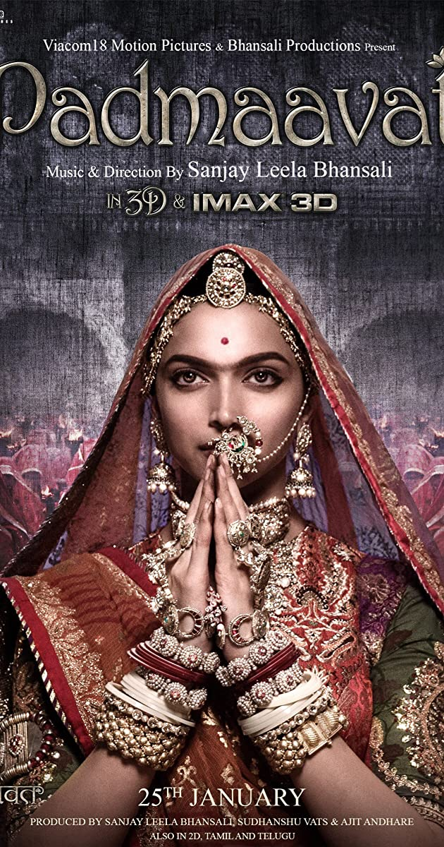 [TorrentCounter.to].Padmaavat.2018.Hindi.1080p.HD.x264.ESubs.[Padmavati]