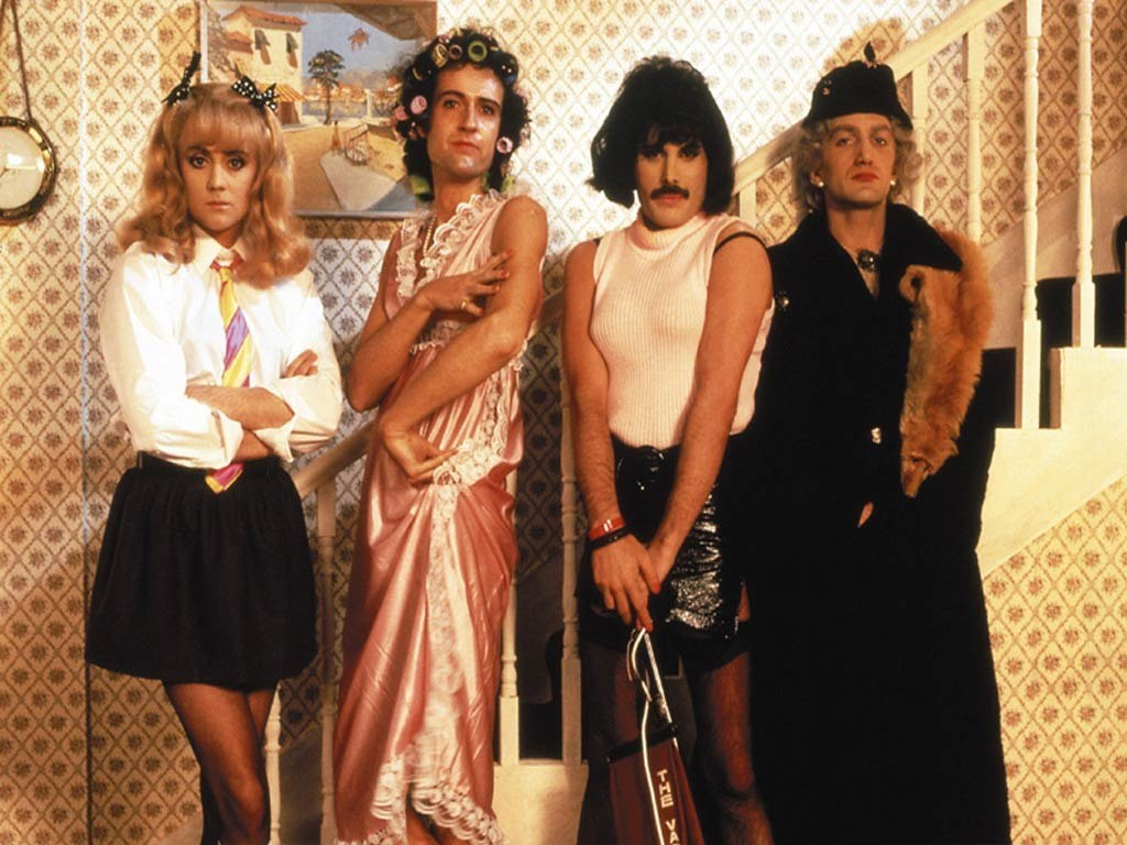 Image result for queen i want to break free