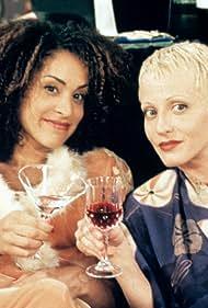 Lori Petty and Karyn Parsons in Lush Life (1996)