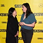 Alison Klayman and Julia Liu at an event for Take Your Pills (2018)
