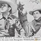 Johnny Mack Brown, James Ellison, and Lee Roberts in Whistling Hills (1951)