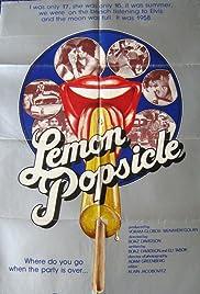 Lemon Popsicle Poster