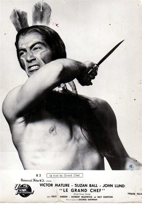 Ray Danton in Chief Crazy Horse (1955)