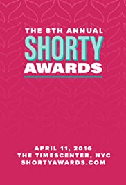 8th Annual Shorty Awards Poster