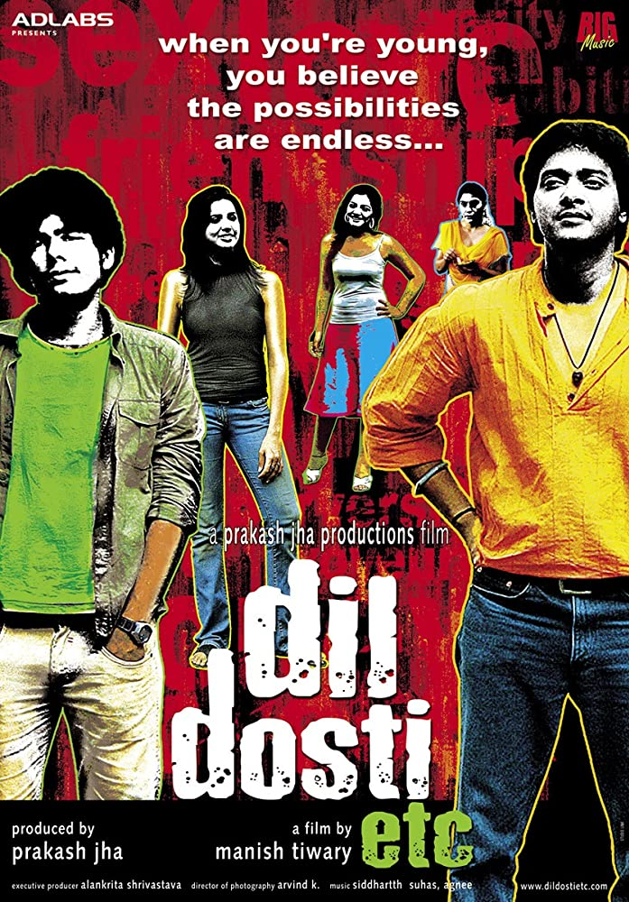 Dil Dosti Etc 2007 Hindi Movie AMZN WebRip 300mb 480p 900mb 720p 3GB 7GB 1080p
