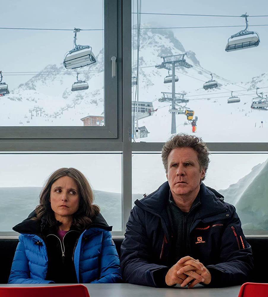 Julia Louis-Dreyfus and Will Ferrell in Downhill (2020)