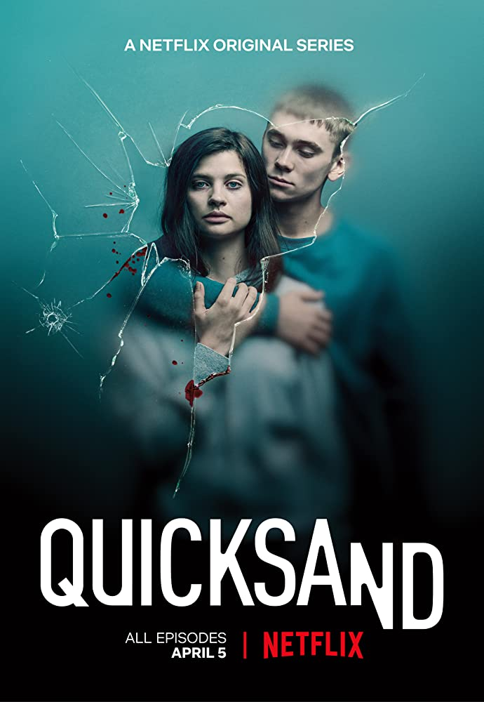 Hanna Ardéhn and Felix Sandman in Quicksand (2019)
