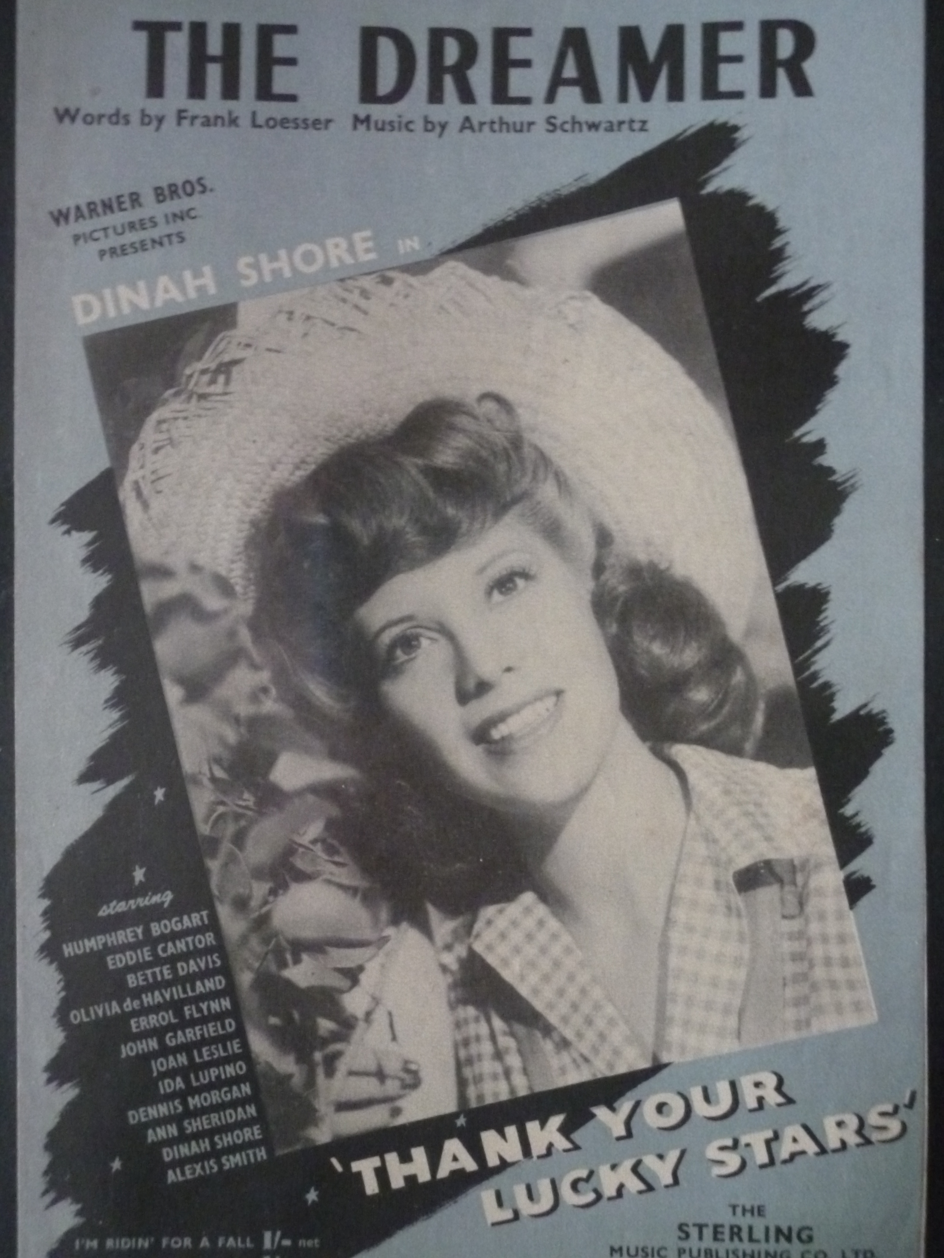 Dinah Shore in Thank Your Lucky Stars (1943)