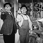 Oliver Hardy and Stan Laurel in Tit for Tat (1935)