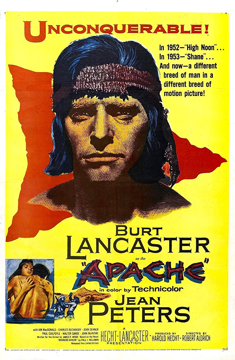 Apačas / Apache (1954)
