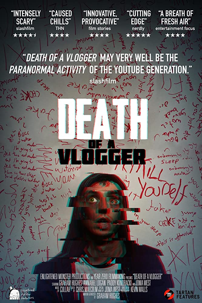 Death of a Vlogger 2020 English Full Movie 720p HDRip 800MB Download