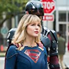Brandon Routh and Melissa Benoist in Legends of Tomorrow (2016)
