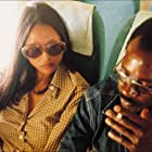 Laura Gemser and Don Powell in Emanuelle nera (1975)