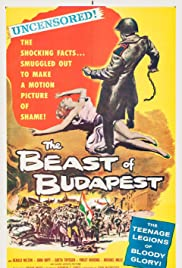 The Beast of Budapest(1958) Poster - Movie Forum, Cast, Reviews
