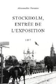 Stockholm, entrée de l'exposition (1897)