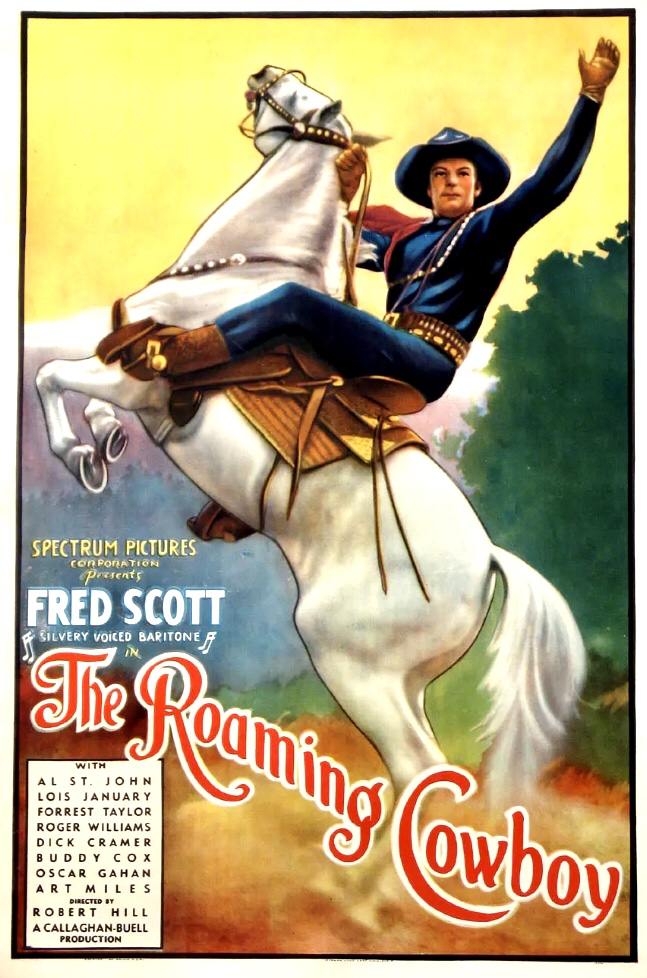 Fred Scott in The Roaming Cowboy (1937)
