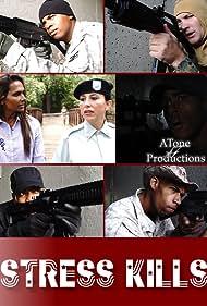 Kelly Rodela, Charles Nelson, Himi Haridas, Mario Javon, Himi Haridas, Marcus Anderson, Antonio Vines, and Joseph Marshall in Stress Kills (2019)