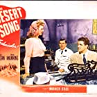 Bruce Cabot, Irene Manning, and Dennis Morgan in The Desert Song (1943)