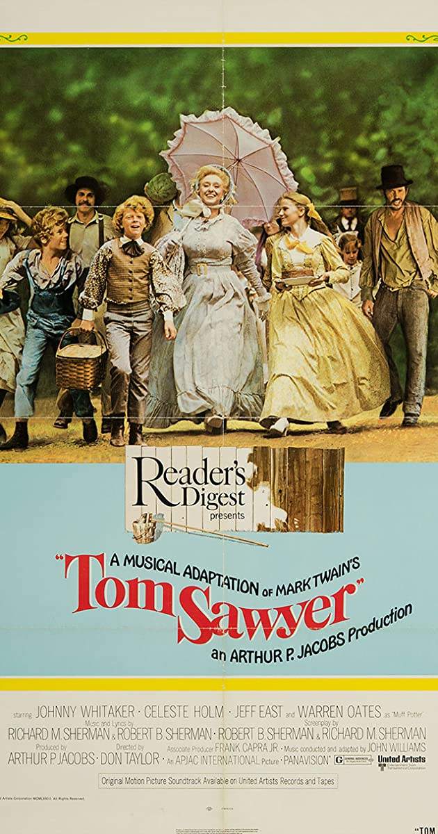 Tom Sawyer 1973 Jodie Foster As Becky Thatcher Imdb