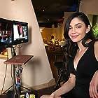 Emilia Ares Zoryan on set of Mr. Invincible
