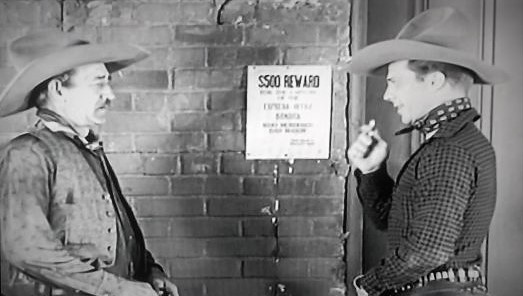 Earl Dwire and Dennis Moore in The Dawn Rider (1935)