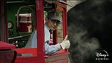 Mark Gonzales: Steam Train Engineer