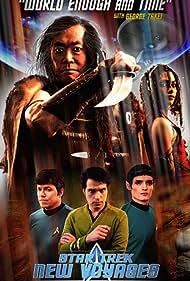 George Takei, James Cawley, and John M. Kelley in Star Trek: New Voyages (2004)