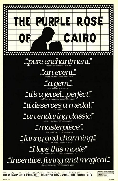 PUPURINĖ KAIRO ROŽĖ (1985) / THE PURPLE ROSE OF CAIRO