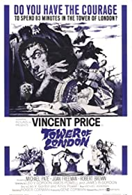 Tower of London (1962) Poster - Movie Forum, Cast, Reviews