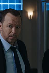 Donnie Wahlberg and Marisa Ramirez in Hide in Plain Sight (2020)