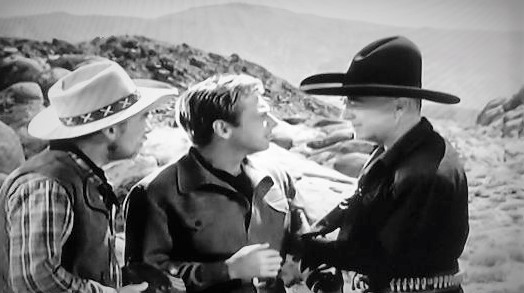William Boyd, Rand Brooks, and Andy Clyde in Silent Conflict (1948)