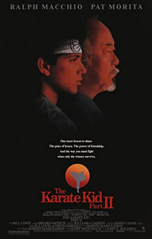 poster for The Karate Kid Part II