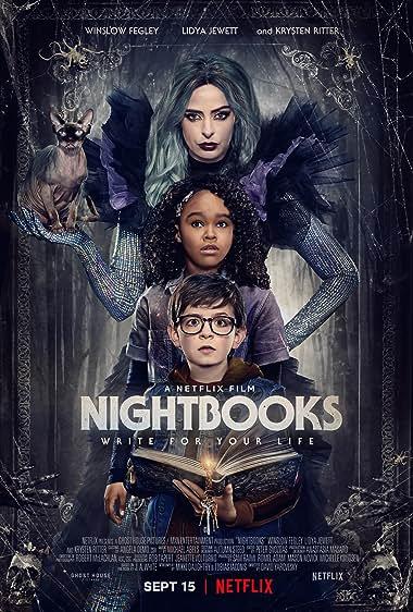 Nightbooks (2021) HDRip English Movie Watch Online Free
