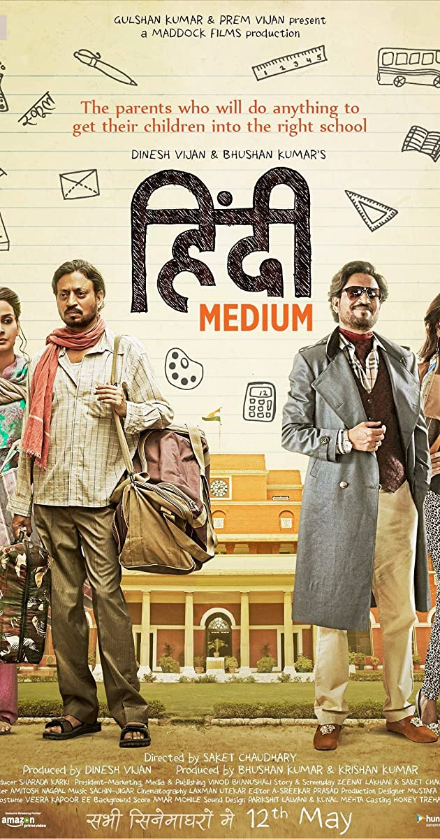 hindi medium full movie torrentz2